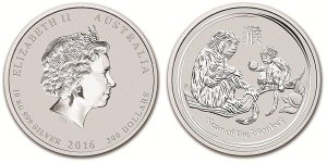 Австралия представит 10-килограммовую монету