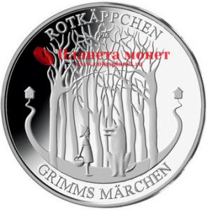 Юбилейные монеты с героями сказок братьев Гримм